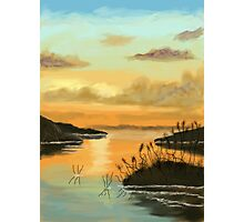 Peaceful Haven after Bob Ross Photographic Print