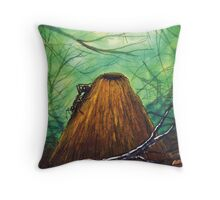 Ant and Hill Throw Pillow
