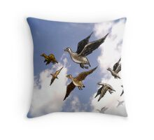 Happy Hunting. Throw Pillow