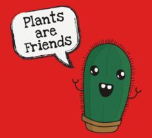 Plants are Friends by Fuchs-und-Spatz