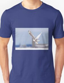 Along a country road - Snowy Owl Unisex T-Shirt