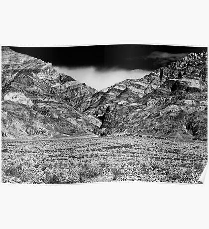 Titus Canyon. Death Valley National Park, California Poster