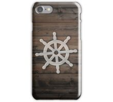 Wheel and wood iPhone Case/Skin