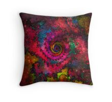Psychedelic  Universe Throw Pillow