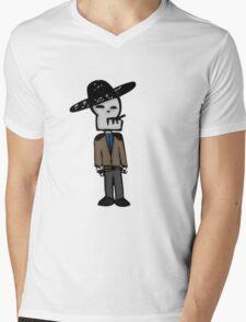 Siesta Time Mens V-Neck T-Shirt