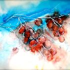 Cherries...Frozen by  Janis Zroback