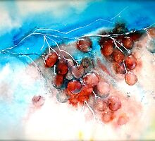 Cherries...Frozen by ©Janis Zroback