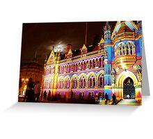 City Hall Bradford Greeting Card