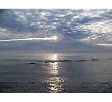 Somber Sunrise Photographic Print