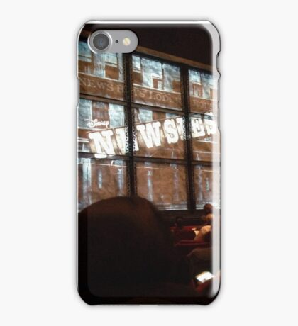 Newsies Curtain iPhone Case/Skin