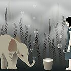 * elephant in lo♥e * by franzi