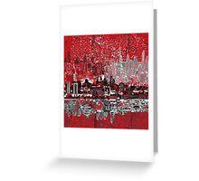 philadelphia skyline 3 Greeting Card