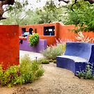 Friends' Backyard by Linda Gregory