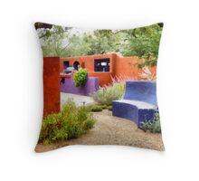 Friends' Backyard Throw Pillow