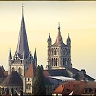 Cathedral of Lausanne by kilmann