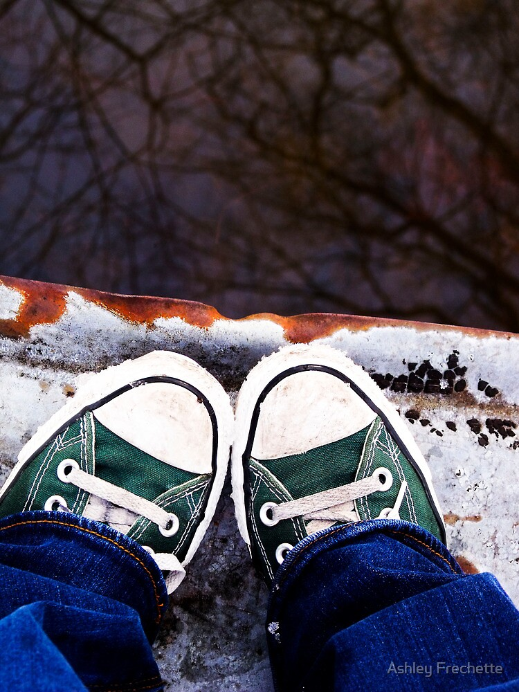 Snow Chucks by Ashley Frechette