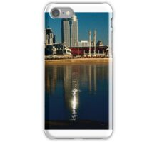 Cincinnati riverfront iPhone Case/Skin