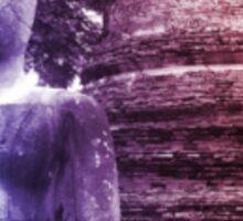 Buddha in Purple Sticker