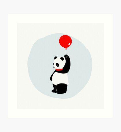 Dear Sweet Panda Baby Art Print