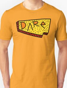 Dare Records Yellow/Red design T-Shirt