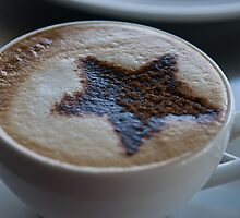 Cappuccino anyone? by Rosalie Dale