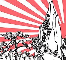 Japanese Landscape T by G. Patrick Colvin