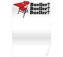 Bueller Poster