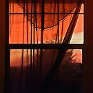 Sunset colors seen through my window  by carlosramos