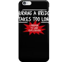 Burning Bridge iPhone Case/Skin