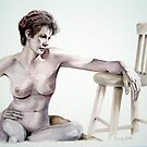 Watercolor, Sarah 2 by Nudessence