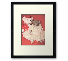 Betti Gets A Date! Framed Print