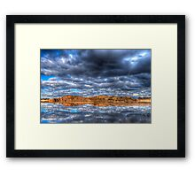 Cloudy Reflection 1 Framed Print