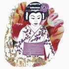 Kyoto Girl Geisha Tshirt! by signaturelaurel
