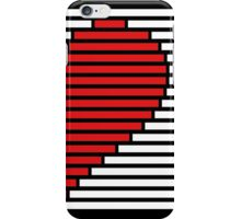 Half heart for couples - right side iPhone Case/Skin