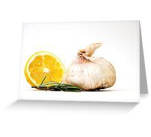 Lemon Swirl Greeting Card