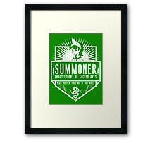 League of Summons Framed Print