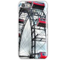 Viennese Giant Wheel in Colour iPhone Case/Skin