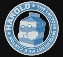 Harold: The Lactose Intolerant Milk Carton Kids Clothes