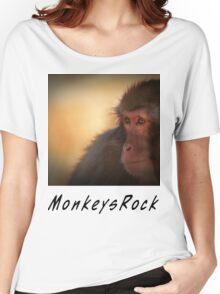 Monkeys Rock Women's Relaxed Fit T-Shirt