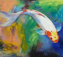 Koi Art Pirouette by Michael Creese