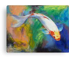 Koi Art Pirouette Canvas Print