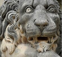 Lion Statue at the Grand Masters Palace Valletta Malta by HotHibiscus