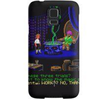 Asking about the Three Trials (Monkey Island 1) Samsung Galaxy Case/Skin