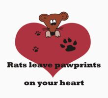Rats leave pawprints on your heart by MustLoveRats