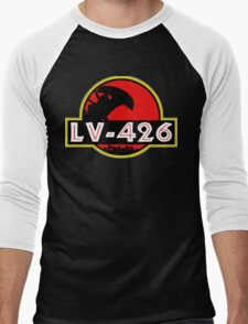 Xenomorph Park - LV 426.  Men's Baseball ¾ T-Shirt