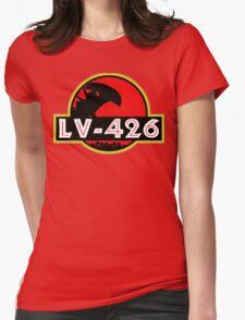 Xenomorph Park - LV 426.  Womens Fitted T-Shirt