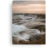 The Water Rush Canvas Print
