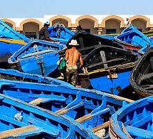 Among the Fishing Boats (Morocco) by BGpix