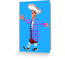 The lovely STAN (Monkey Island) Greeting Card