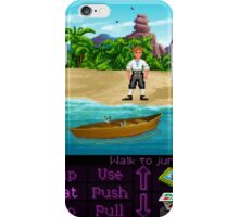 Finally on Monkey Island (Monkey Island 1) iPhone Case/Skin